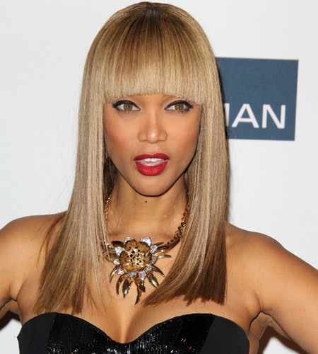 Tyra Banks Updo: Banged Beauty! A Fringe Cut For Every Hairstyle