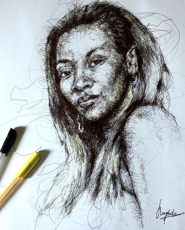 stunning-sketches-of-genevieve-nnaji