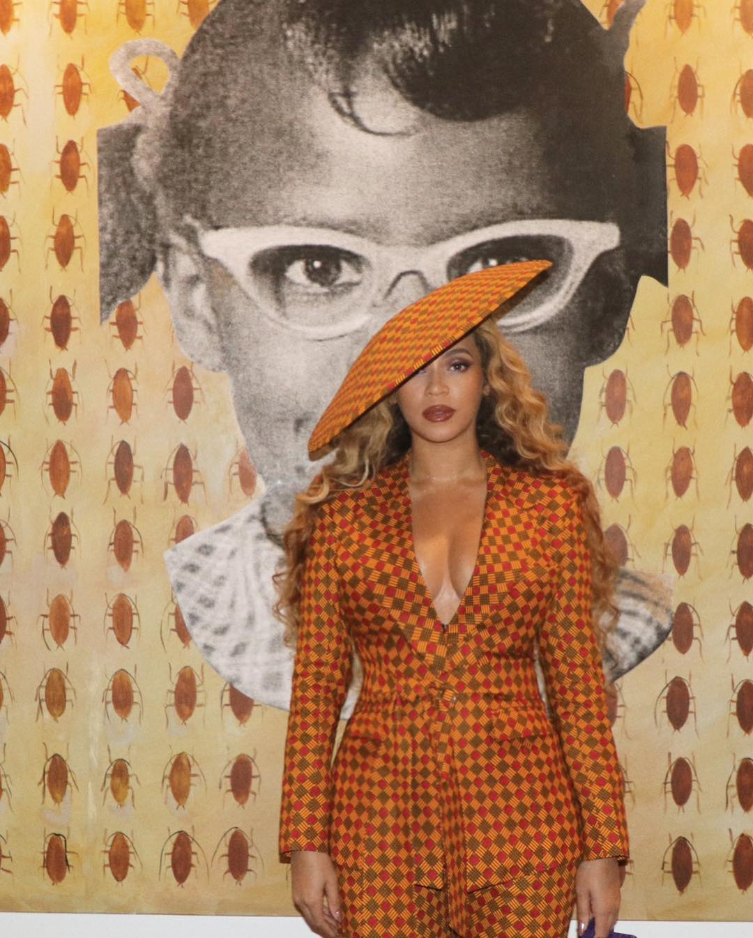 Beyonce Ankara Suit