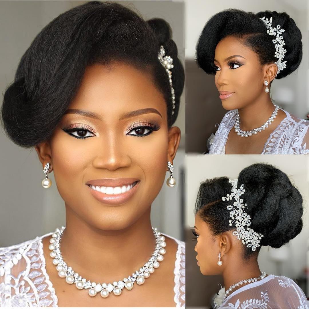 9 Natural Hairstyles For Brides Who Want To Flaunt Their Natural Locs