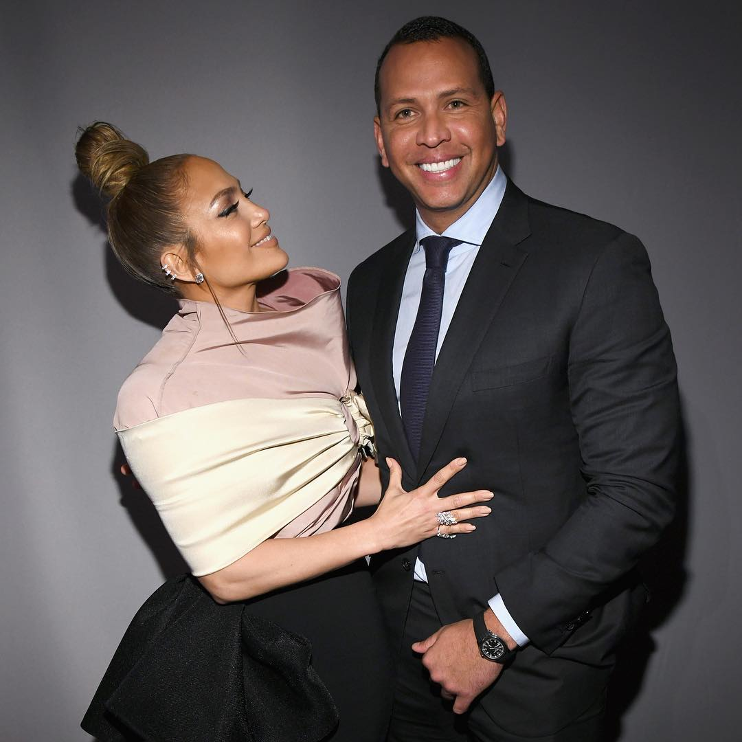 JLo And ARod engaged