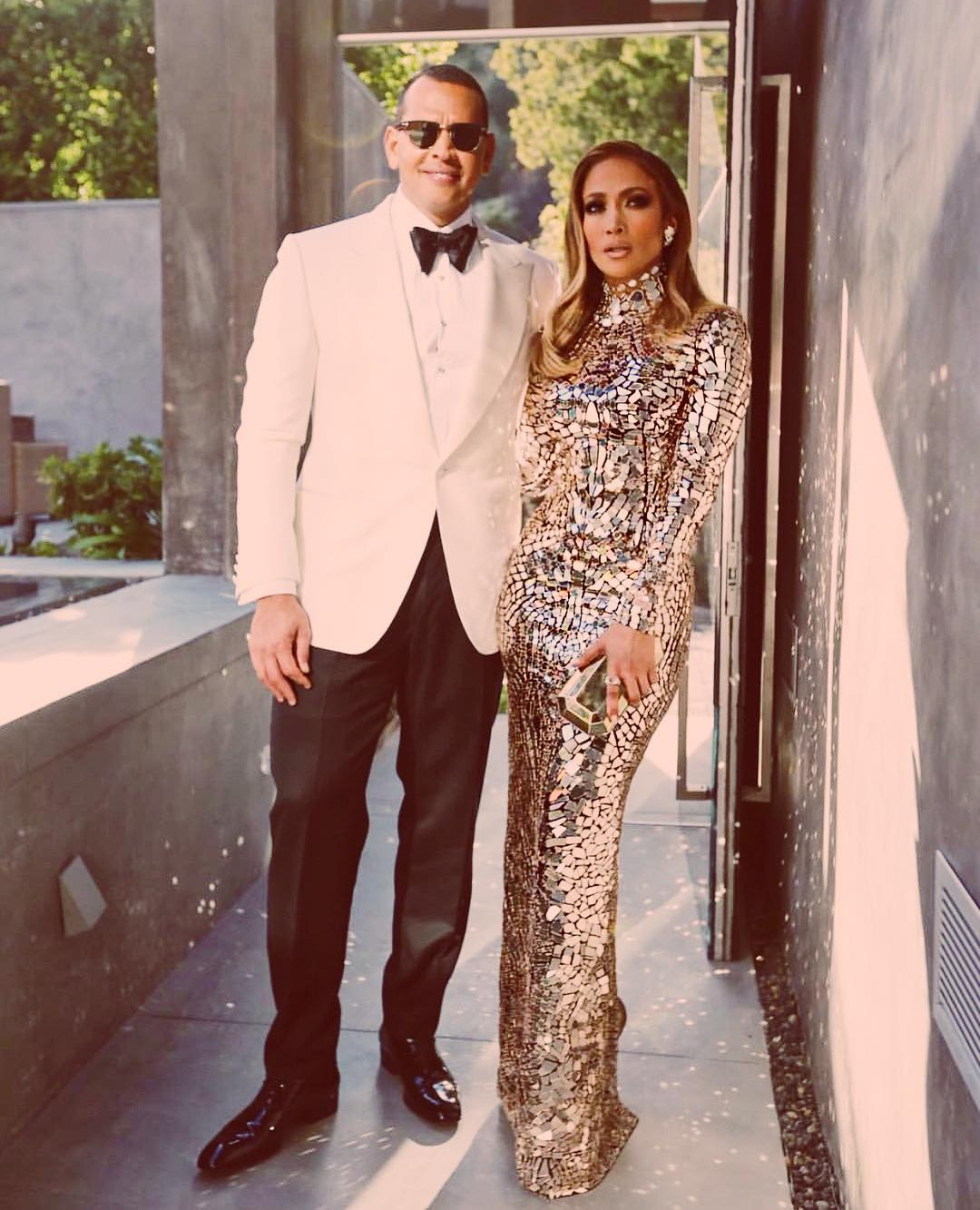 J.Lo And Alex Rodriguez engaged