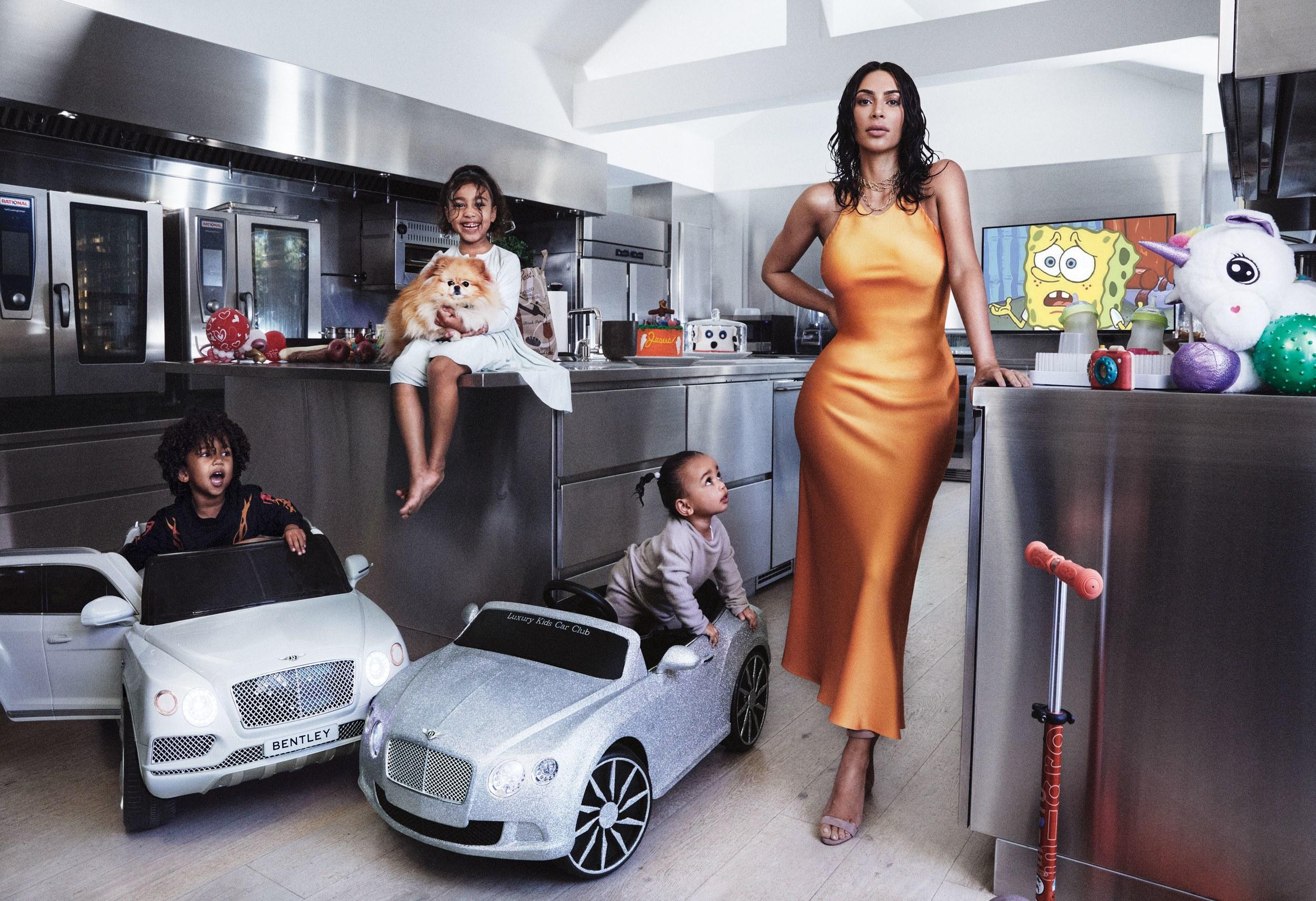 Kim Kardashian West Vogue