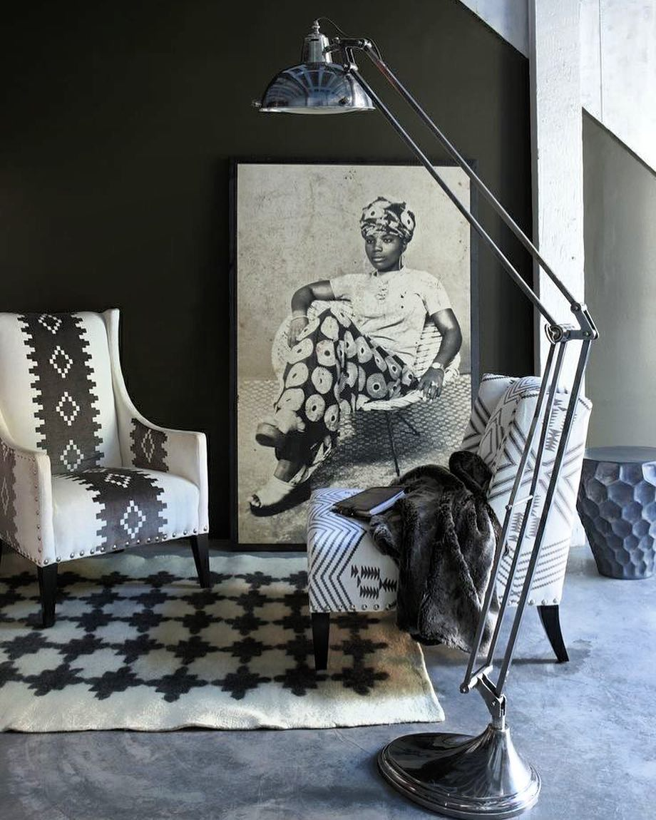 African-inspired living rooms