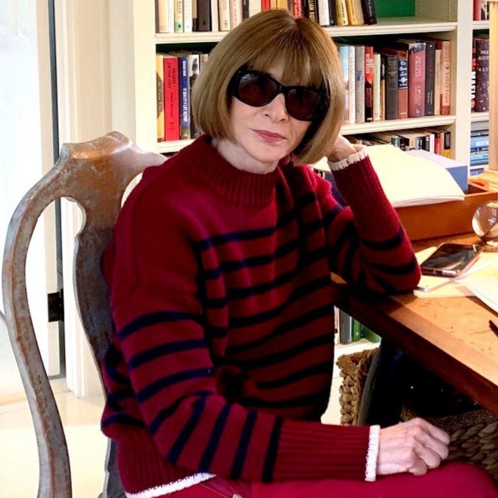 Anna Wintour Reveals The Real Reason She Wears Dark Sunglasses