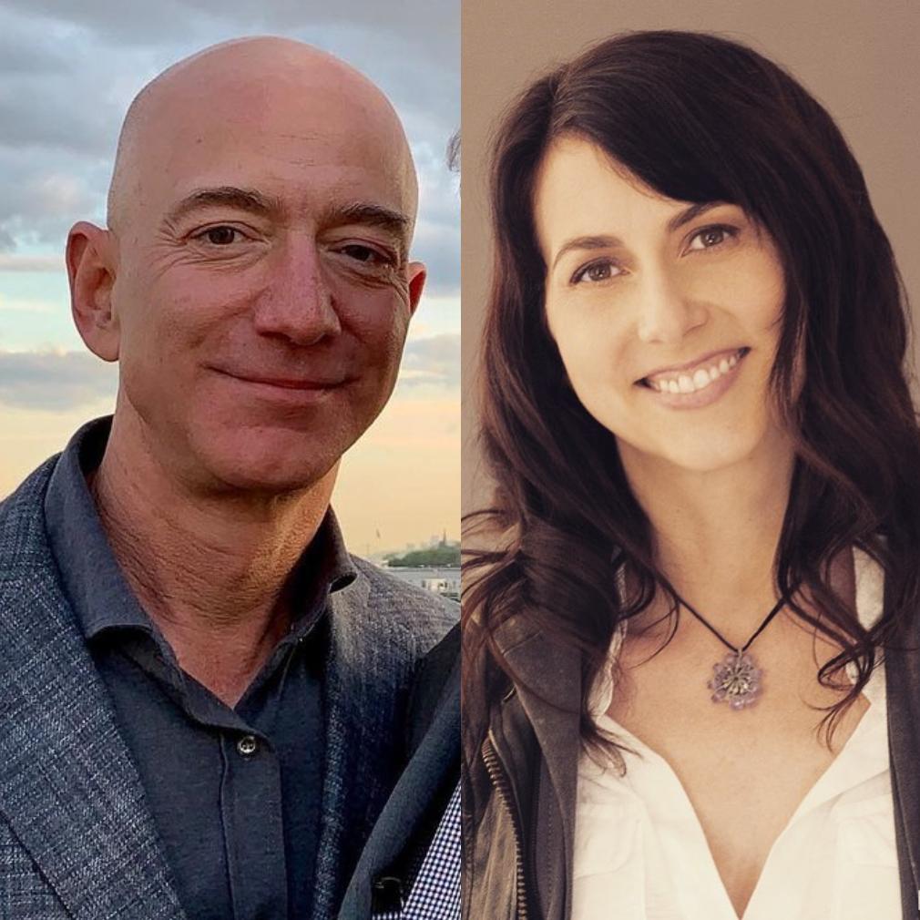 Jeff Bezos and MacKenzie Scott divorce separated