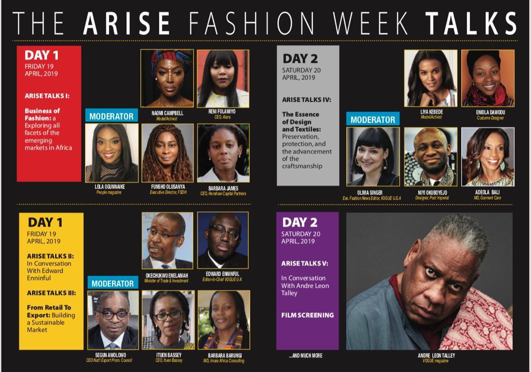 Arise Fashion Week 2019