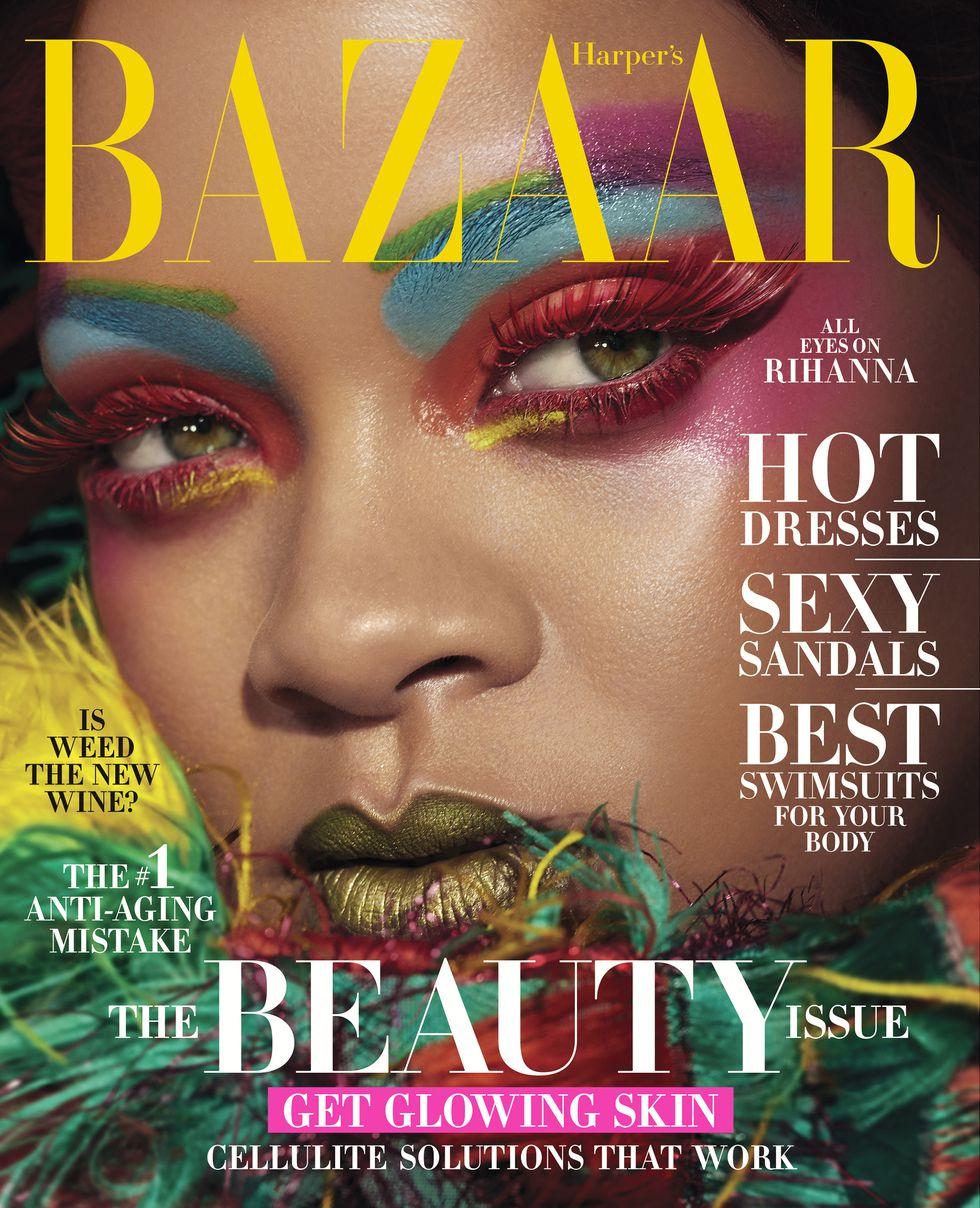 Rihanna Harpers Bazaar
