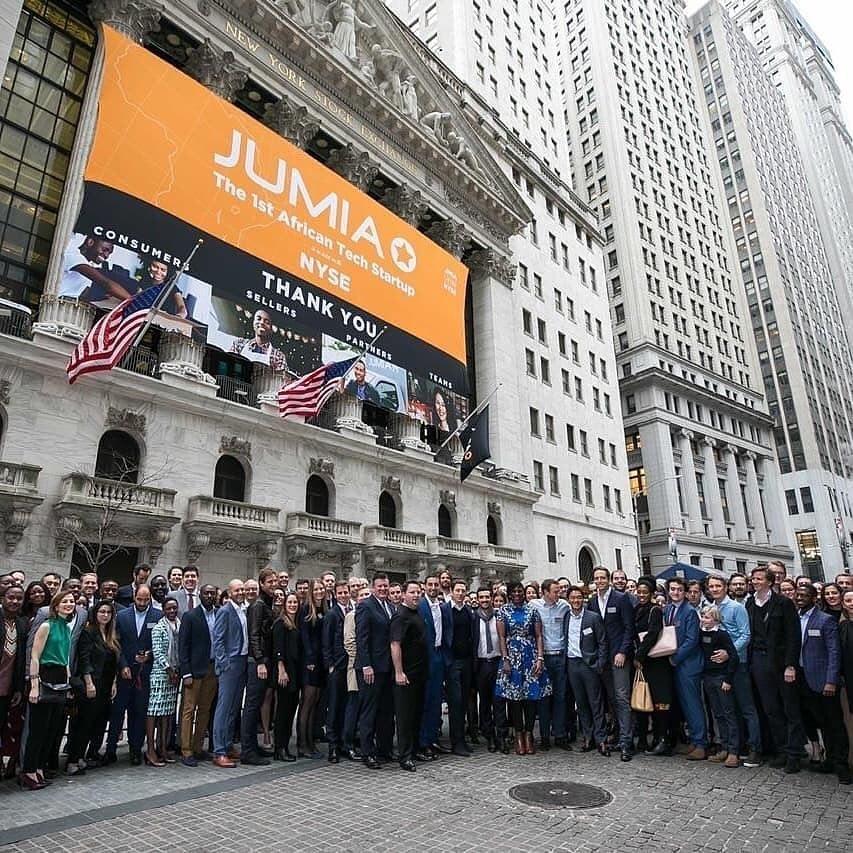 Jumia debut Wall Street