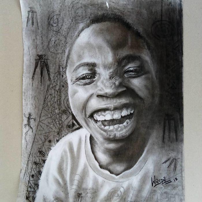 Nigerian Hyper Realistic Artists
