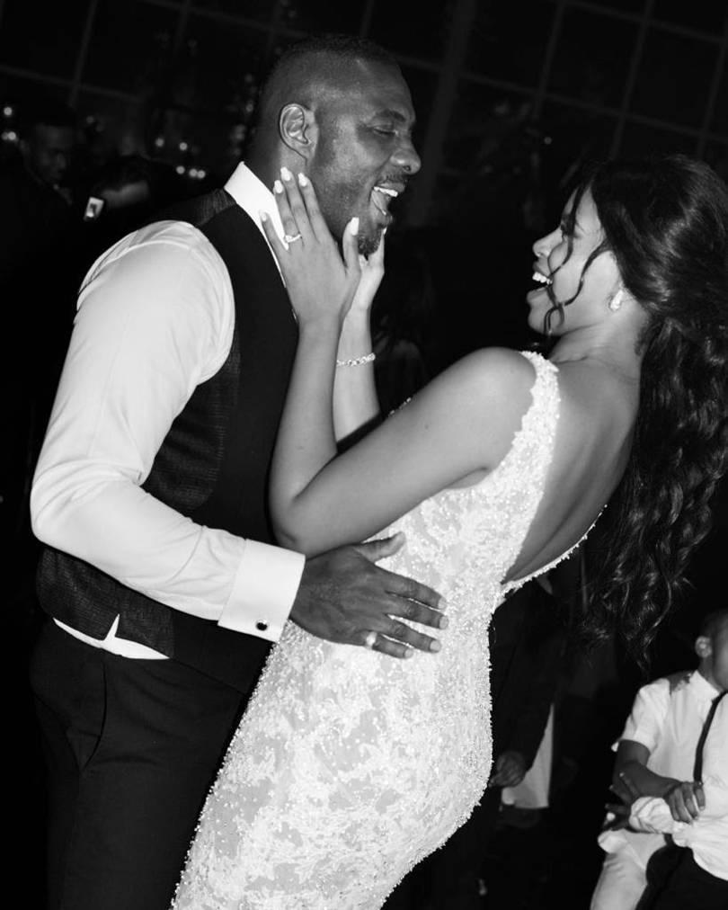 Idris Elba Idris Elba and Sabrina Dhowre Married