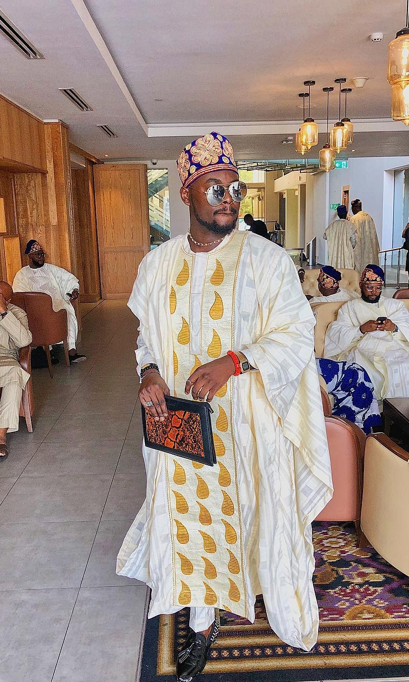 Peter Okoye Celebrity Looks