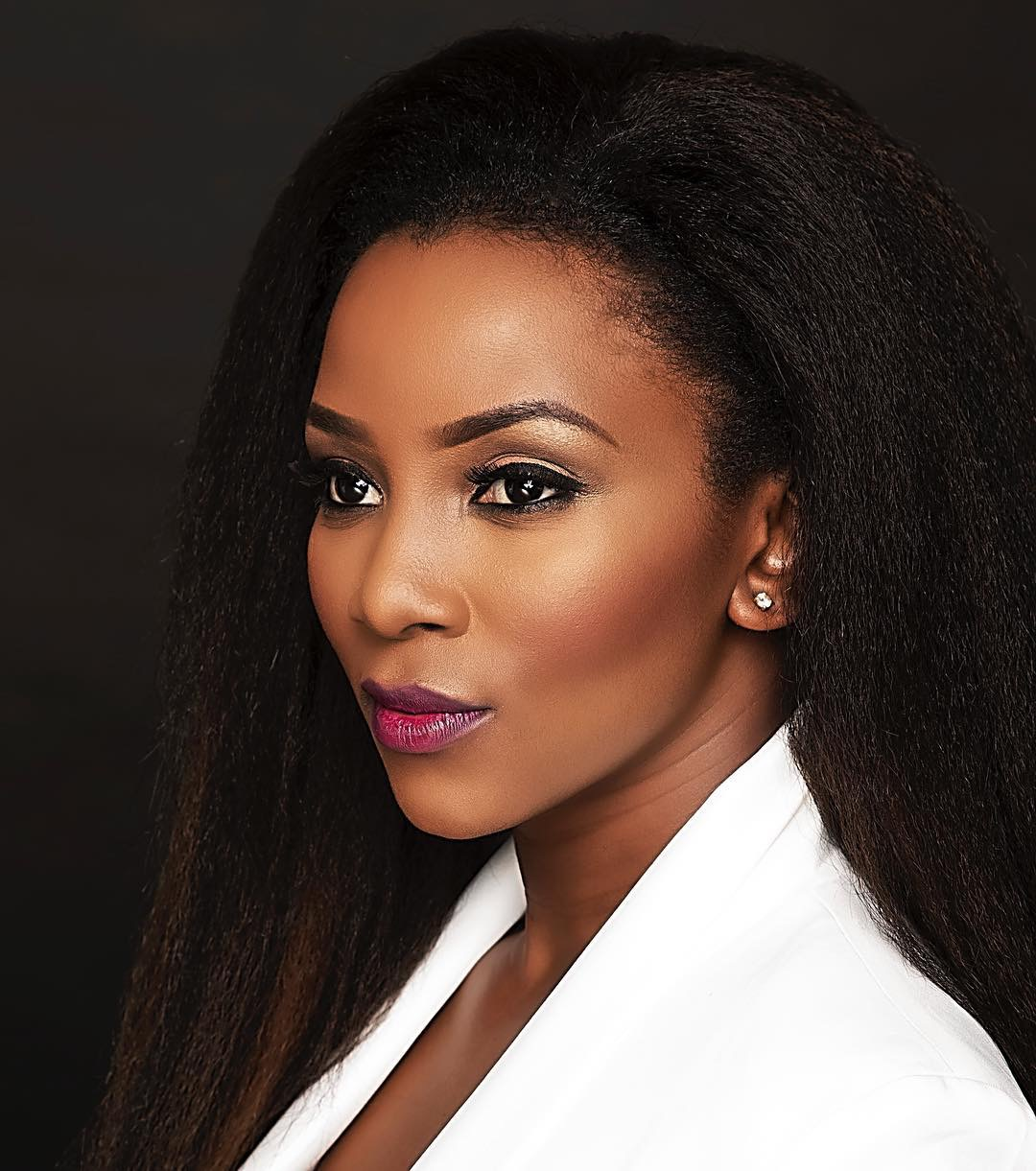 celebrity beauty looks genevieve nnaji