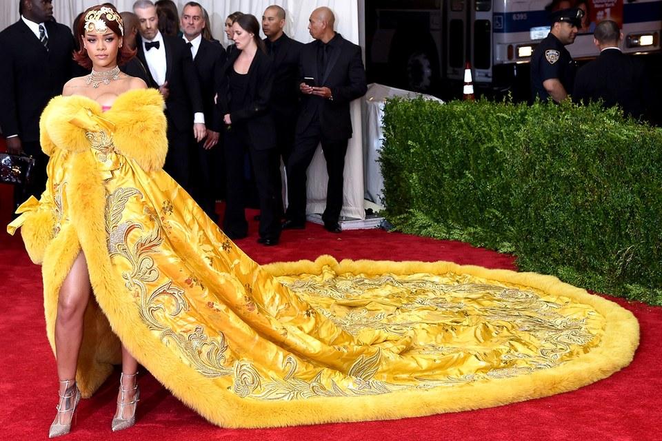 Iconic Met Gala looks 2020 theme news 2019 and 2018 Rihanna 2015