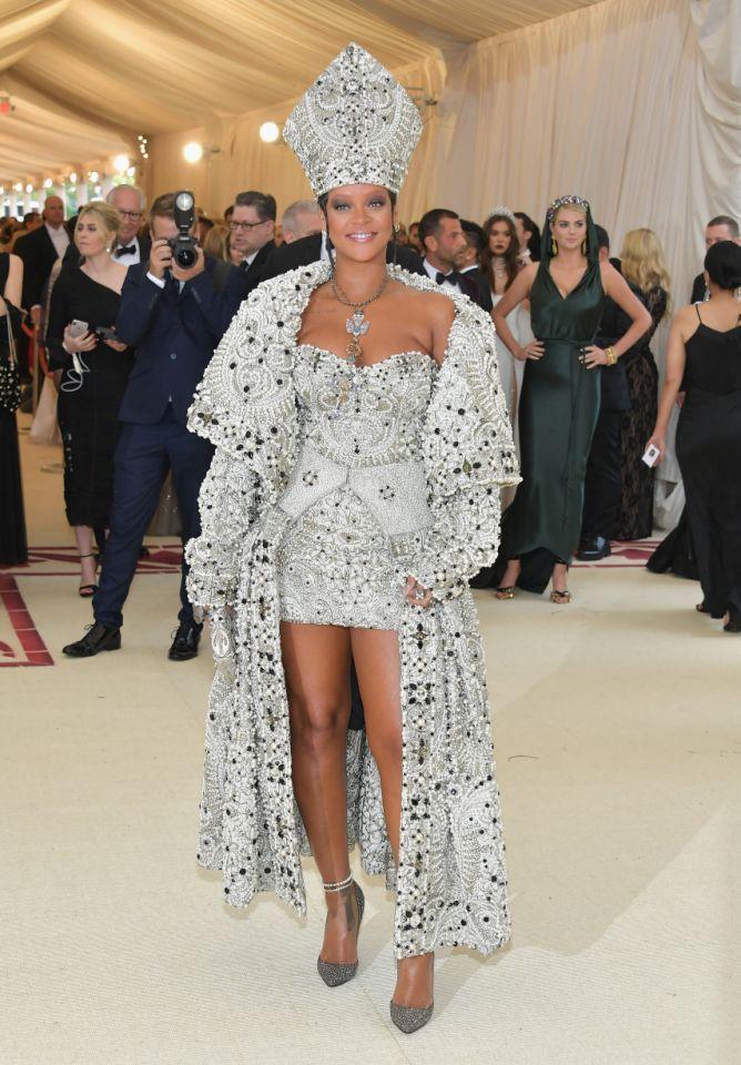 Memorable MET Gala Looks Rihanna birthday style