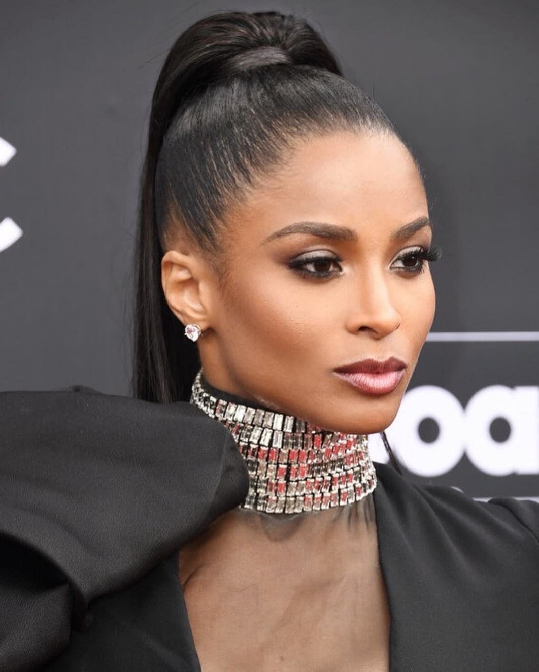 celebrity beauty looks ciara