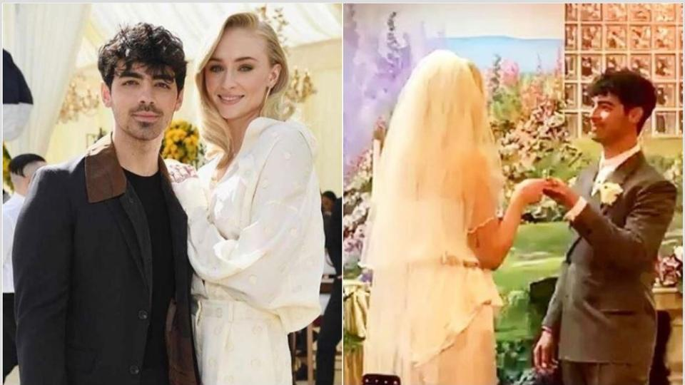 Sophie Turner weds Jonas