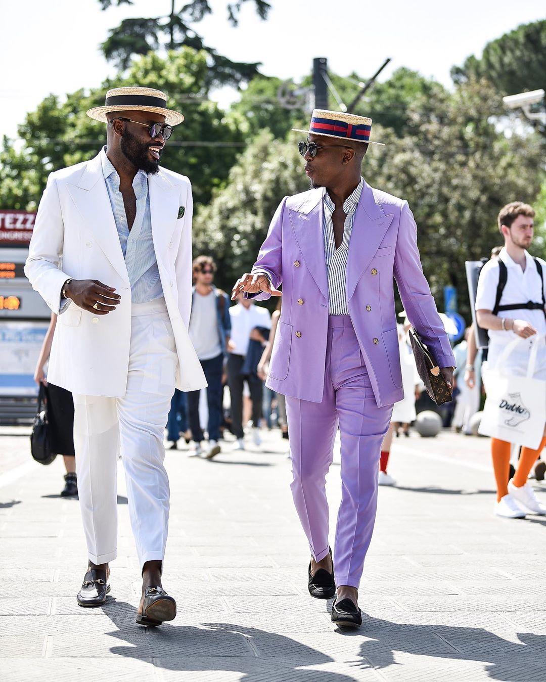 Gabriel Akinosho (right) and Otunba Lado of AGO. Watch