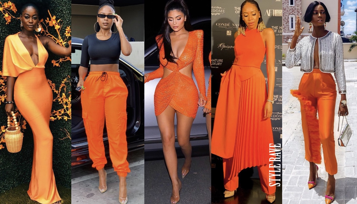 how to style orange wear