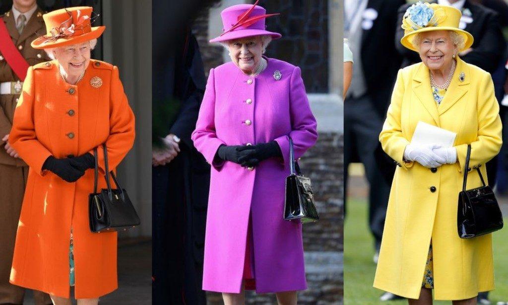 Queen Elizabeth II style rave