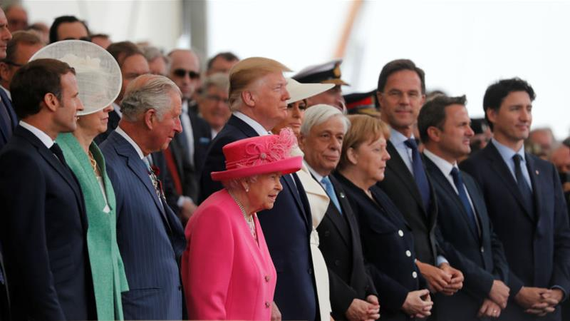 World leaders mark 75th anniversary of D-Day