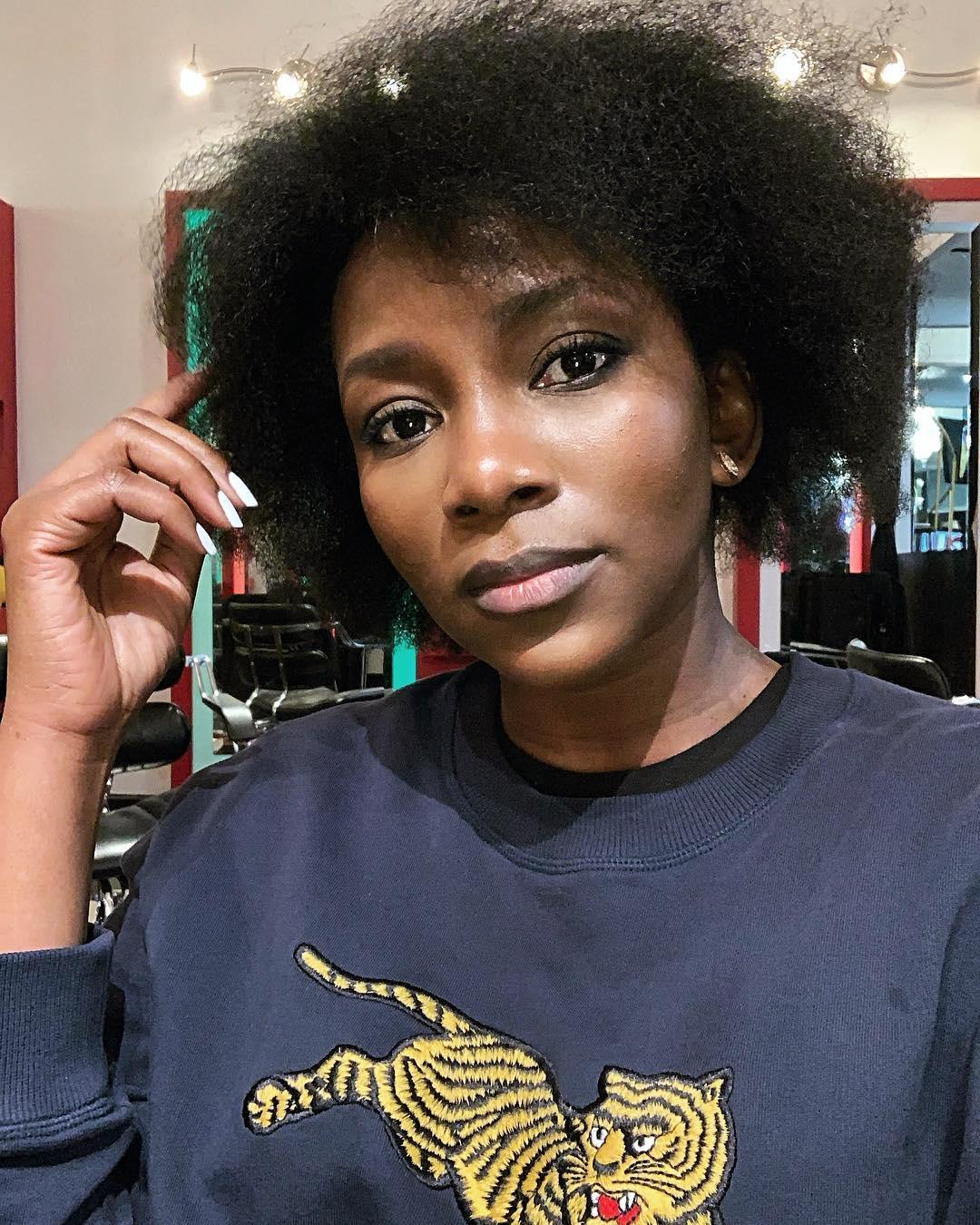 genevieve-nnaji-curls-hairstyles-afro-natural-hair