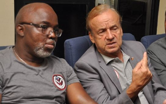 amaju-pinnick-gernot-rohr-super-eagles