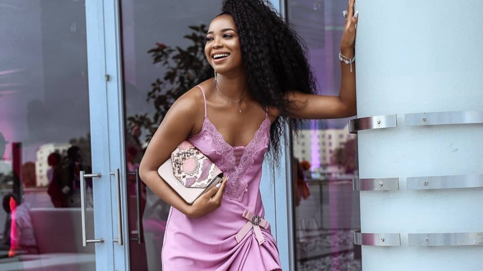 angel-obasi-style-influencer-purple-ig-dress