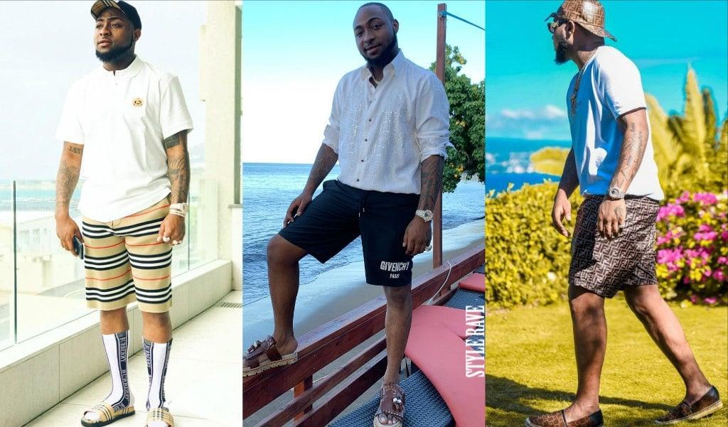 davido-shorts-style-nigerian-mens-fashion-style-rave
