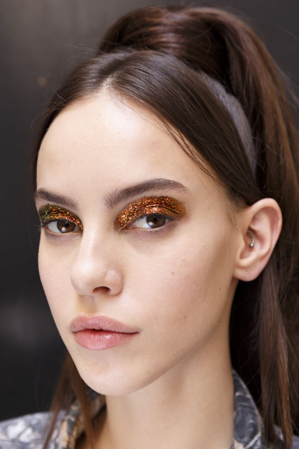 Jean-Paul-Gaultier Fall Couture-Duochrome-Eyes