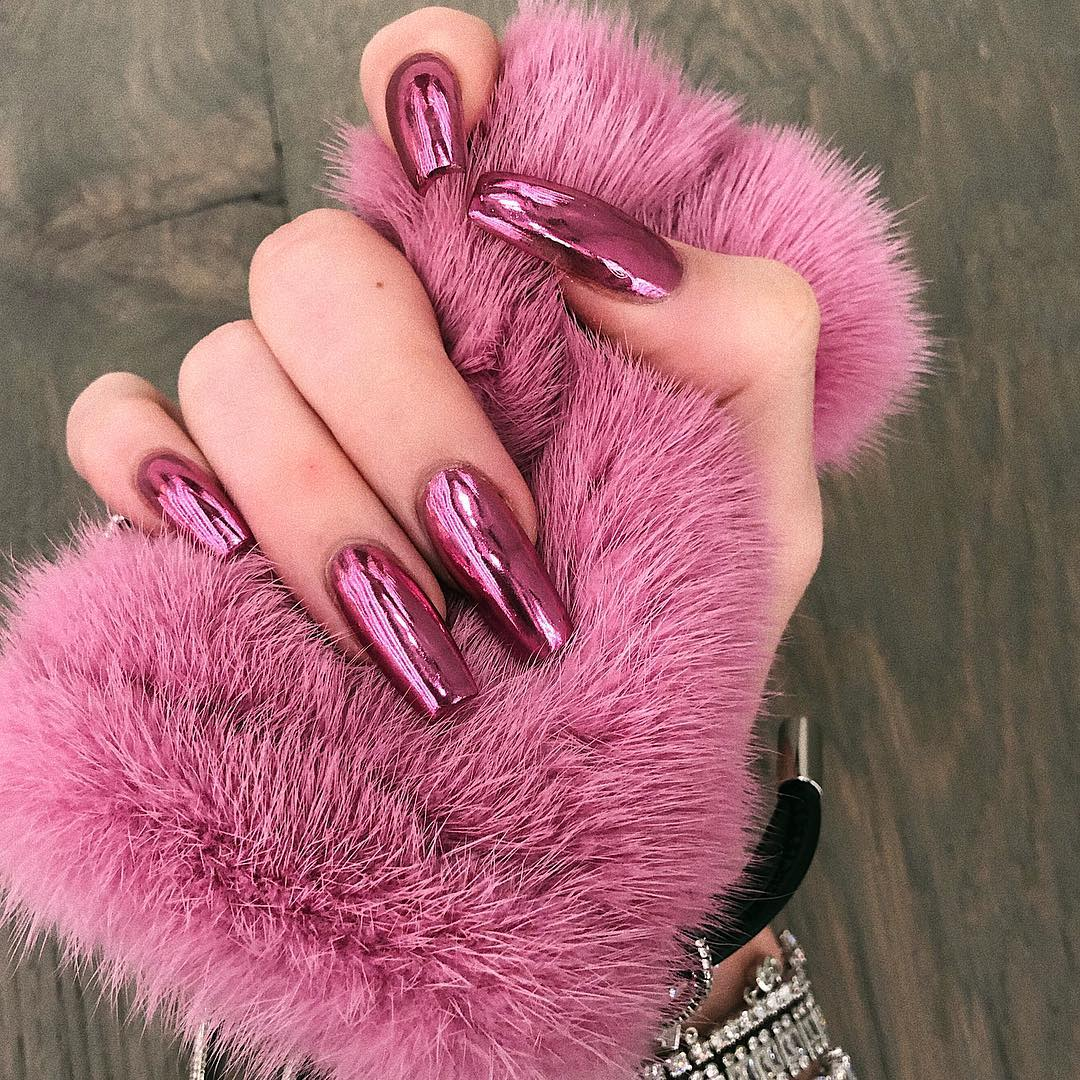 Latest-bold-coffin-nails-of-Kylie Style Rave