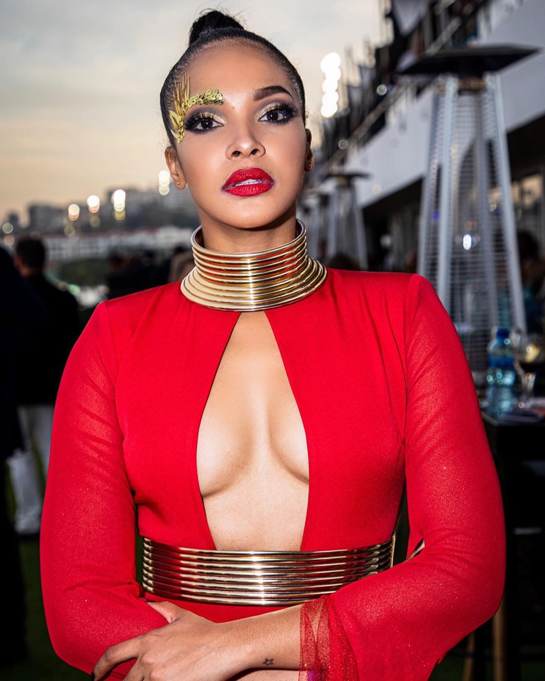 Red-Lipstick-at-Vodacom-Durban-July 2019-Style-Rave