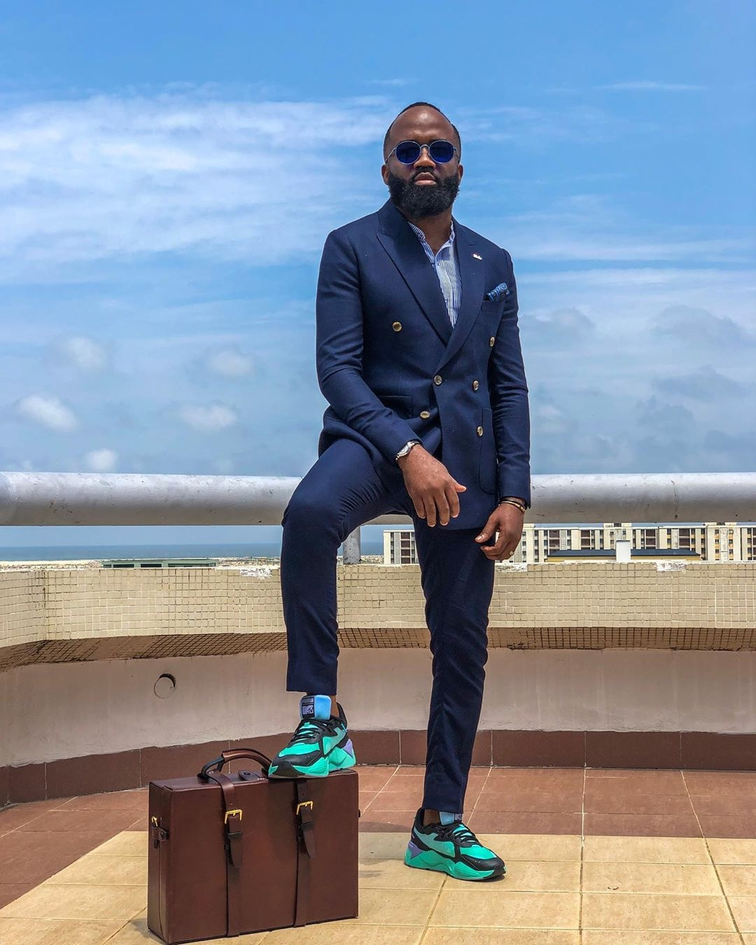 Noble-igwe-suit-sneakers-Nigerian-male-celebrities-style-slay-style-rave