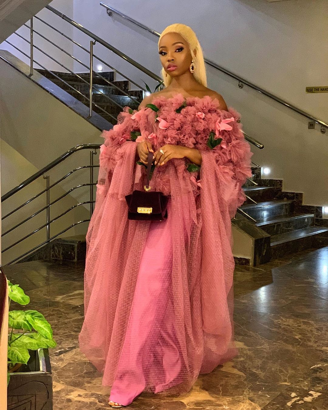 bambam-pink-tulle-dress-stylish-celebrity-weekend-looks