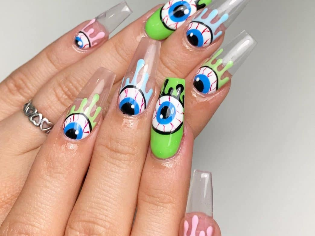 Disney-Halloween-Nail-art-Design-style-rave