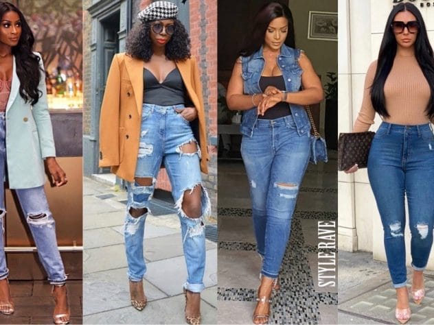 how-to-make-ripped-jeans-denim-2020-easy-tips-diy-linda-ikeji-latest-fashion-style