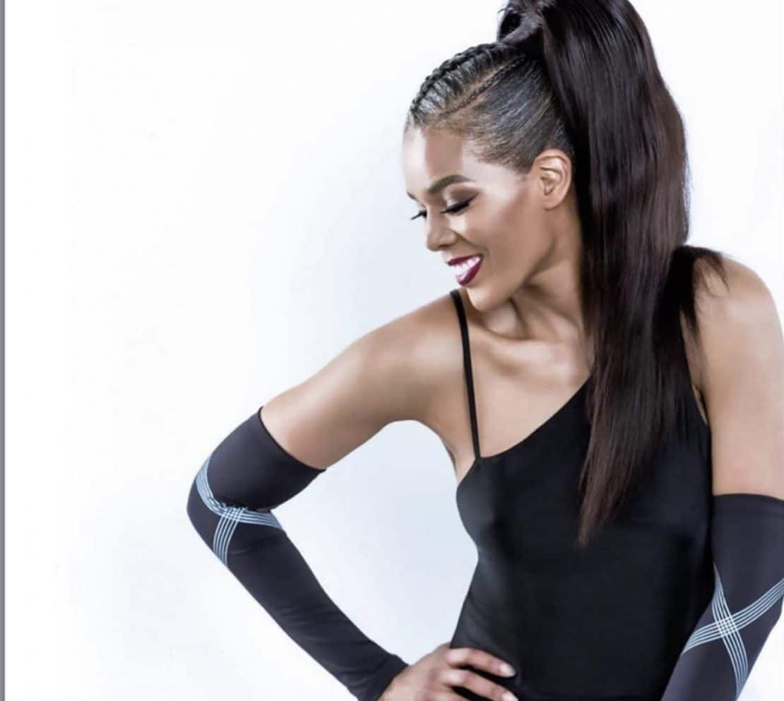 connie-ferguson-high-updo-hair-style-twisted-braid-south-african-celebrity-stars
