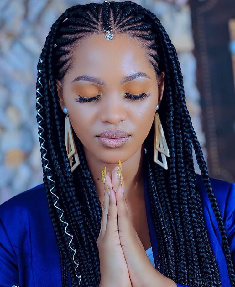 protective-hairstyles-for-natural-hair-cold-season-winter-fall-cornrows