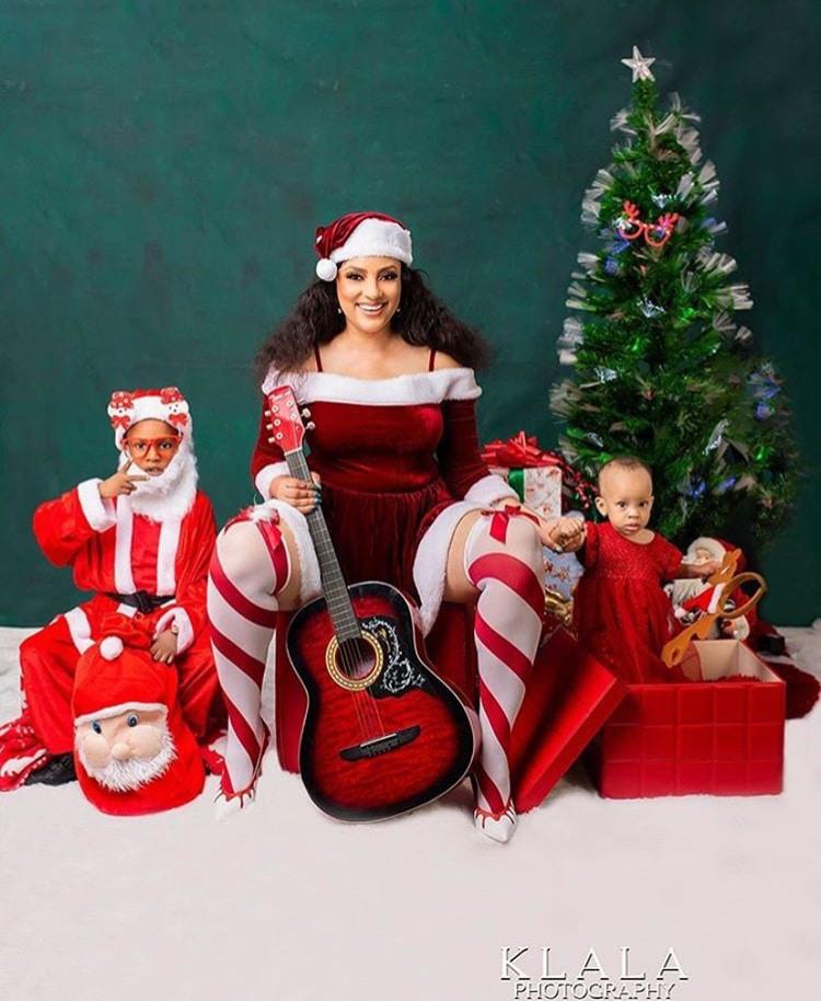 how-nigerian-celebrities-spent-christmas