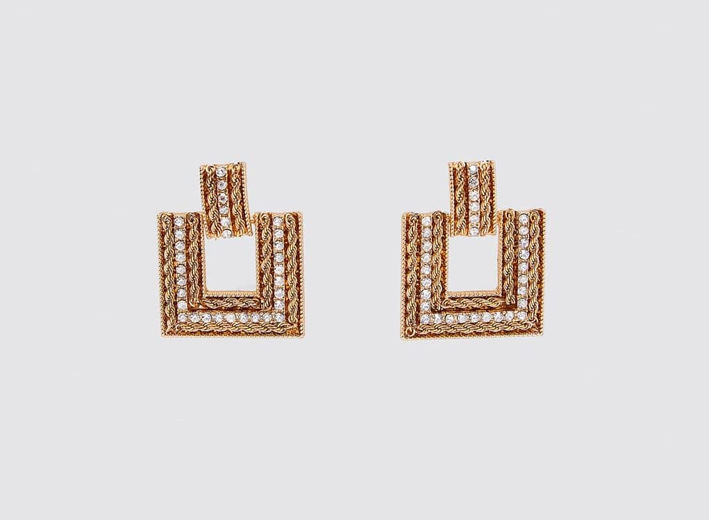 Mimi Chain Drop Earrings