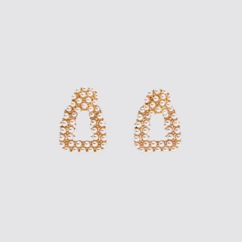 Sandra Pearl Dots Earrings