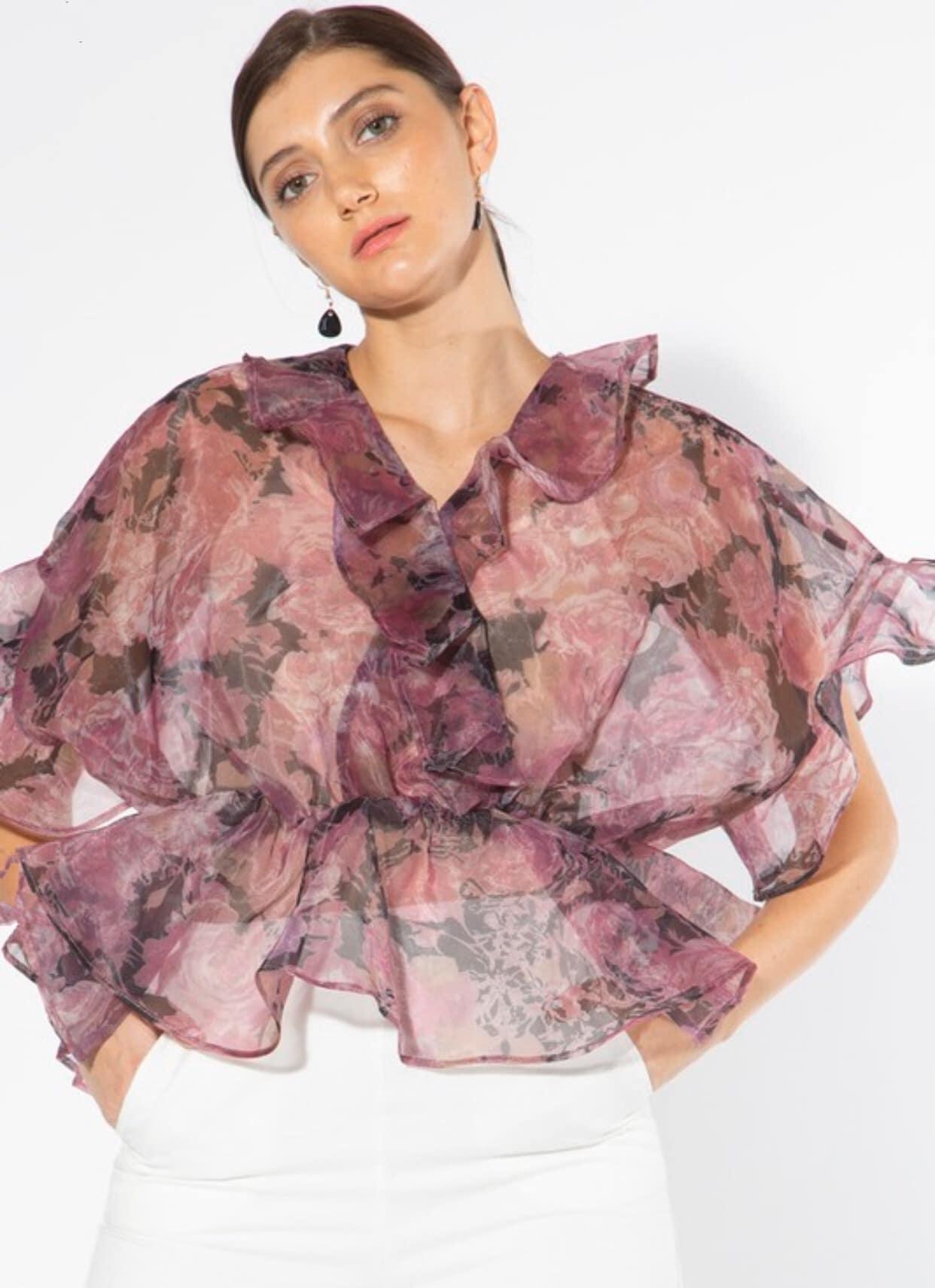 i-malaika-purple-Floral-peplum-blouse-ephezulu