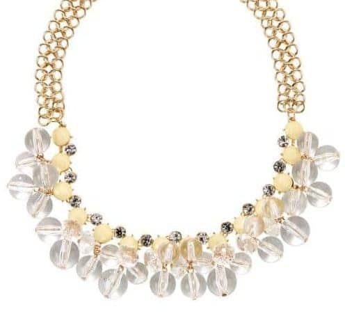 poshy-gold-clear-accent-statement-necklace For Fall Winter Spring Summer