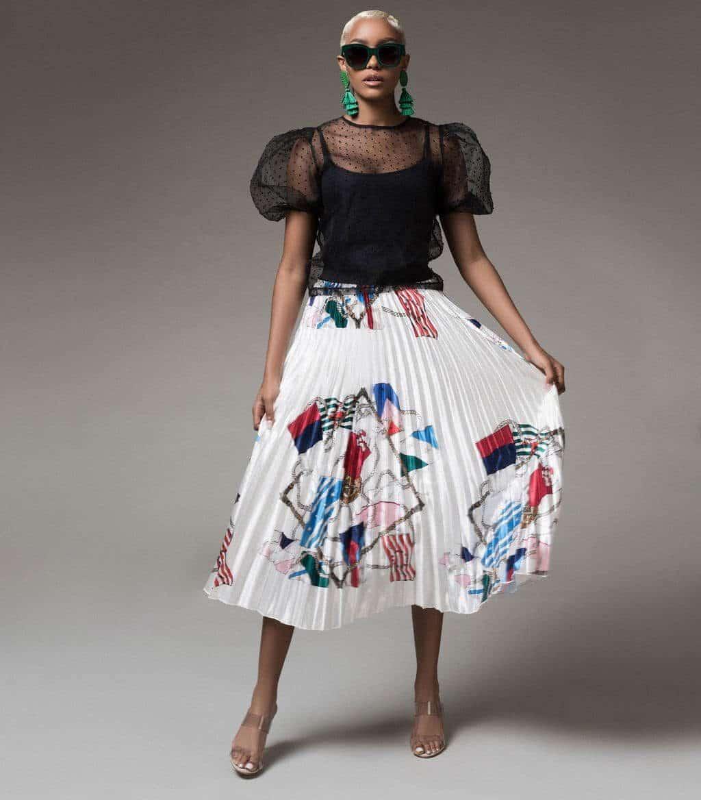 demsy-flag-print-pleated-skirt-copy