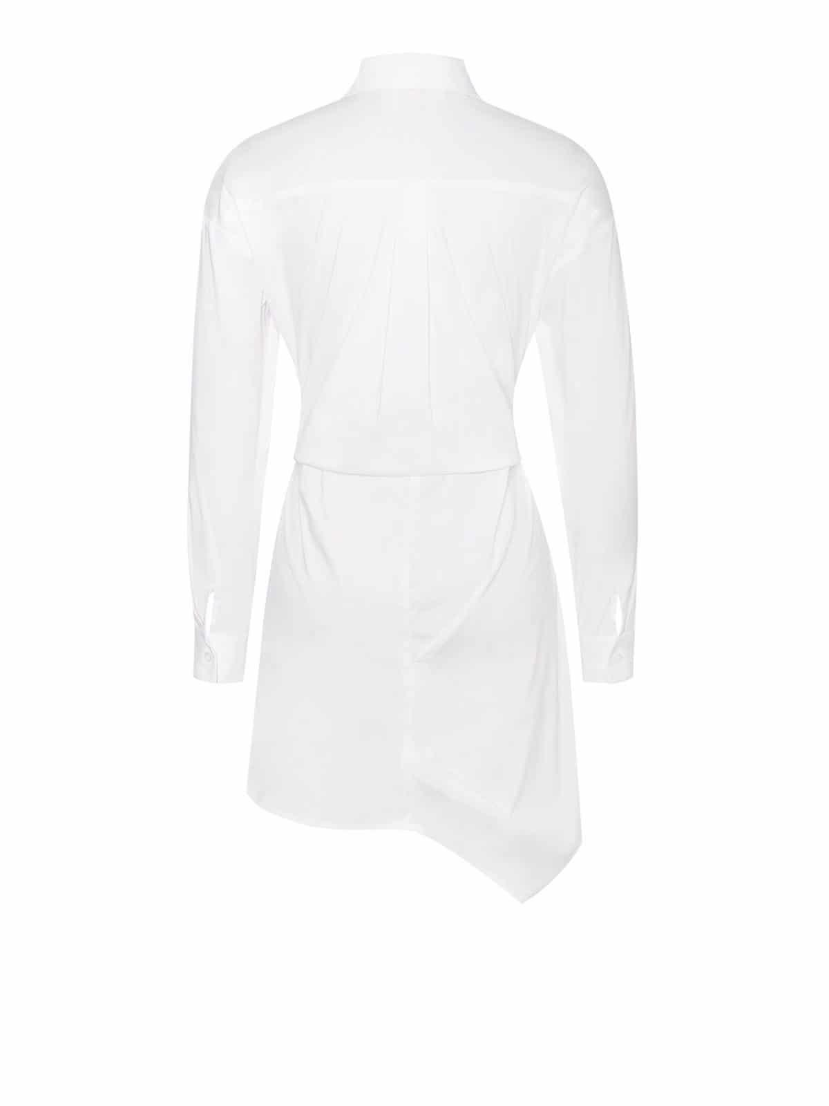 Ariana Draping Shirt Dress