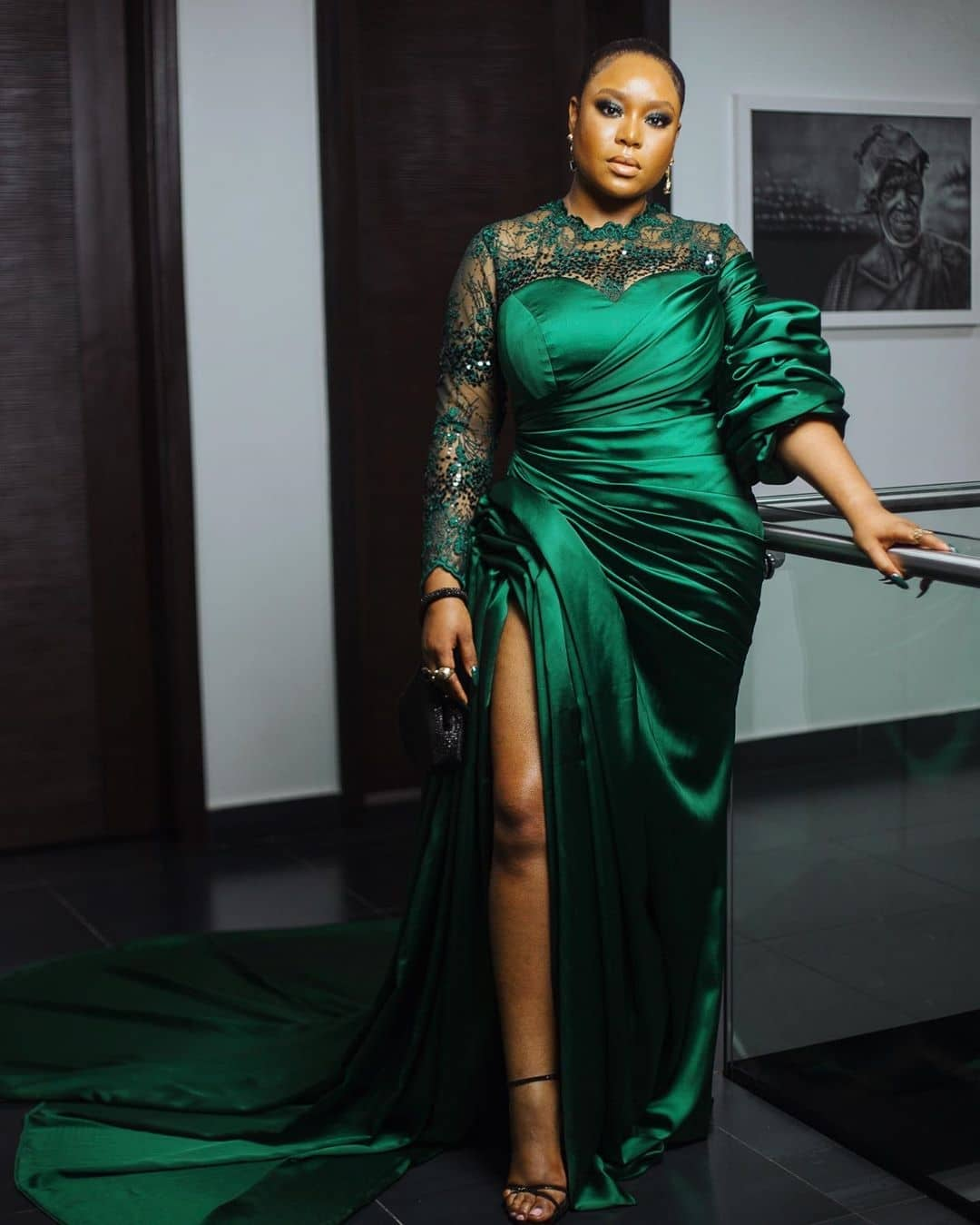 mimi-onalaja-emerald-green-dress-ebony-life-films-tv-your-excellency-movie-premiere-inauguration-ball
