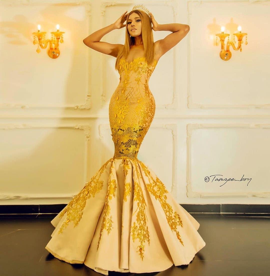 nancy-isime-yellow-mermaid-cut-dress