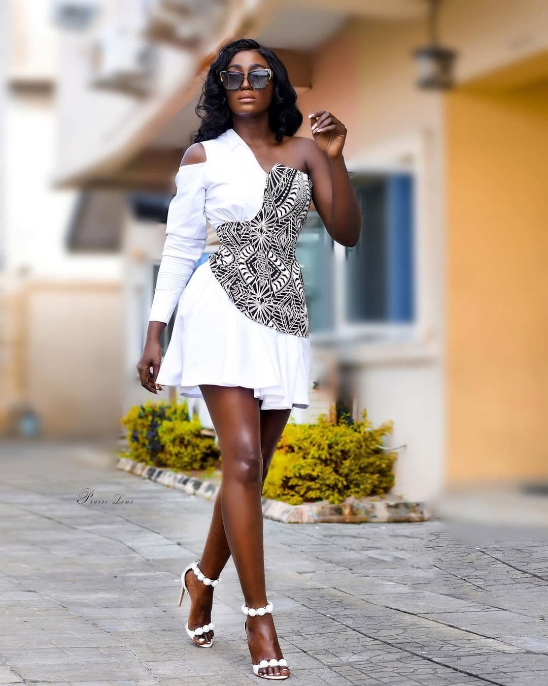 tolu-bally-black-and-white-deconstructed-shirt-dress