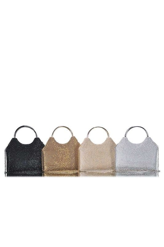 Nana Metallic Clutch Bag