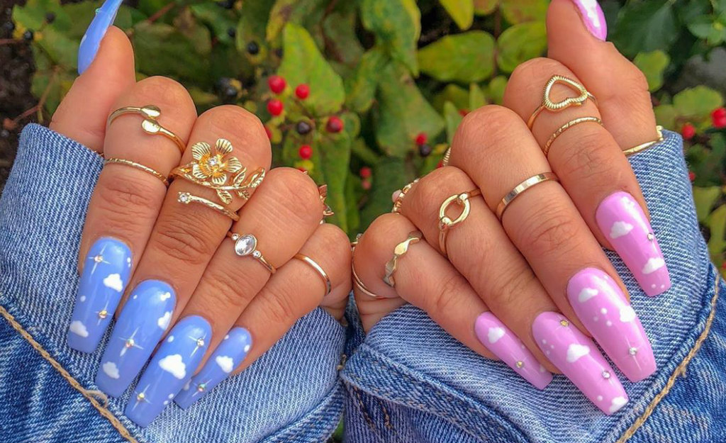 Cloud Nails Are The Pretty Manicure Trend Already Making ...